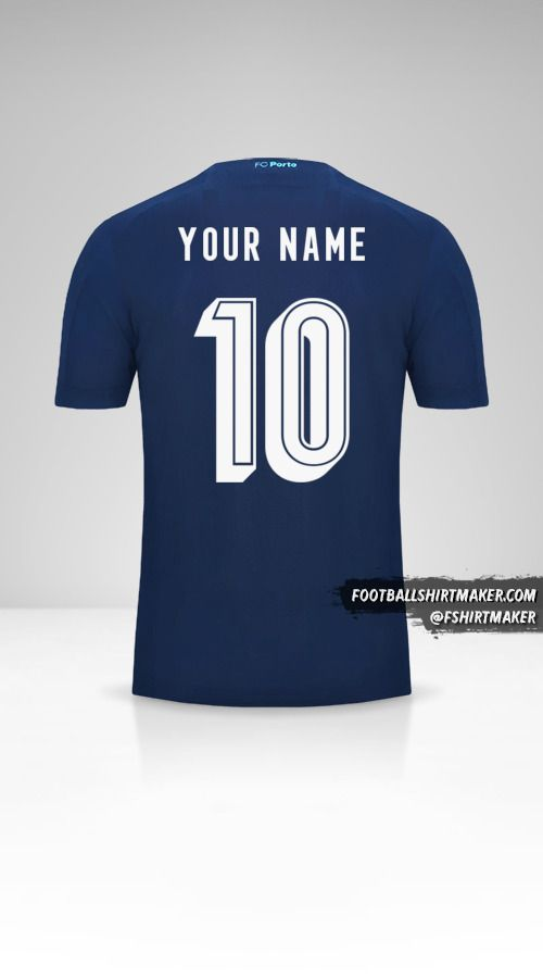 FC Porto 2019/20 UCL III jersey number 10 your name