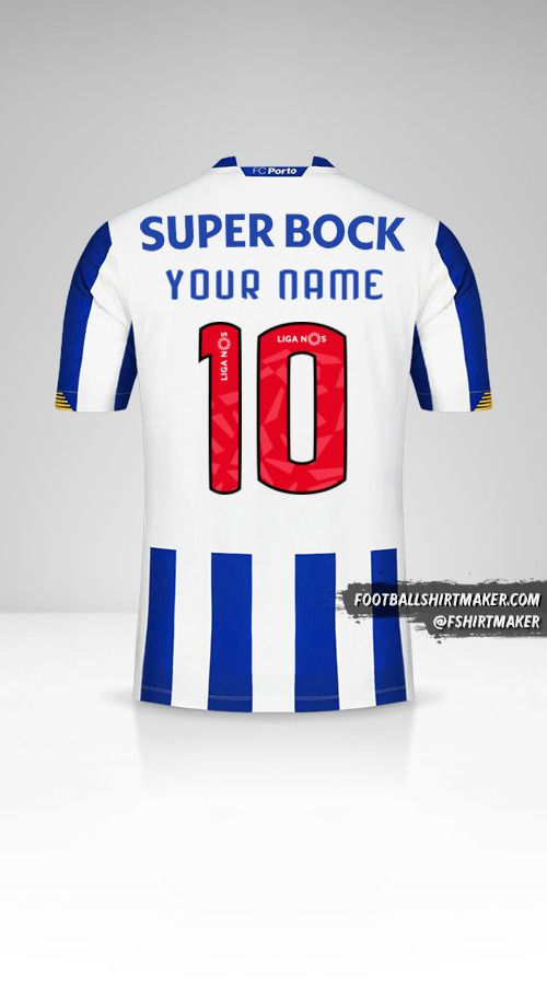 FC Porto 2020/21 jersey number 10 your name