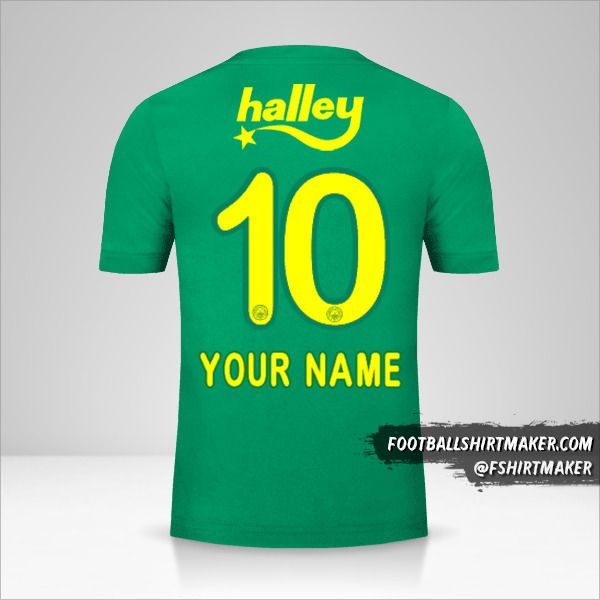 Fenerbahçe SK 2017/18 III jersey number 10 your name