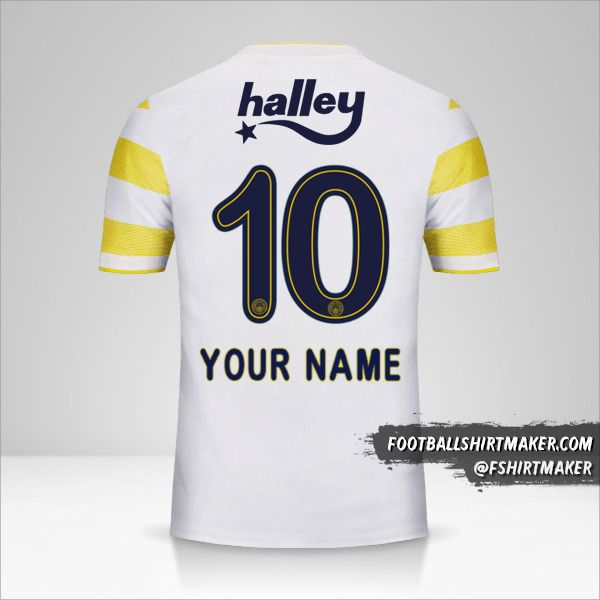 Fenerbahçe SK 2018/19 II jersey number 10 your name