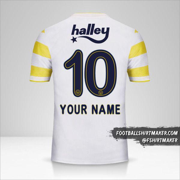 Fenerbahçe SK 2018/19 II jersey number 10 your name