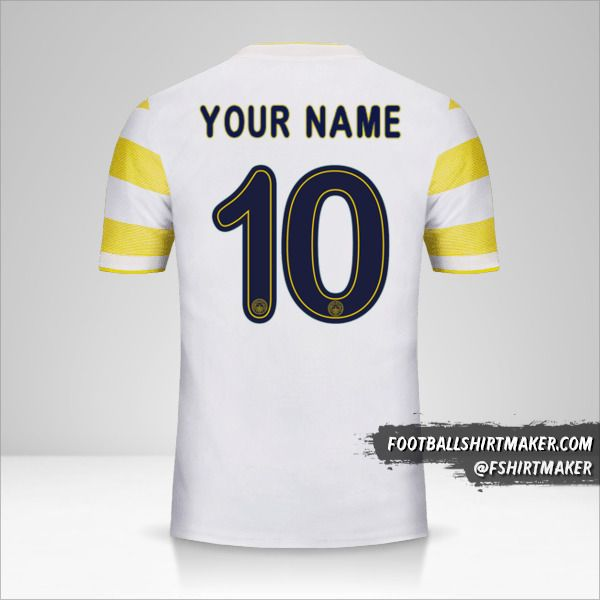 Fenerbahçe SK 2018/19 Cup II jersey number 10 your name