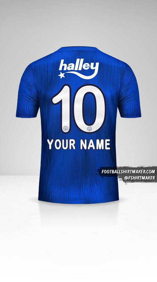 Fenerbahçe SK 2019/20 III jersey number 10 your name