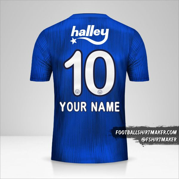 Fenerbahçe SK 2019/20 III jersey number 10 your name
