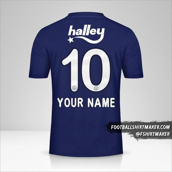 Fenerbahçe SK jersey 2019/20 number 10 your name