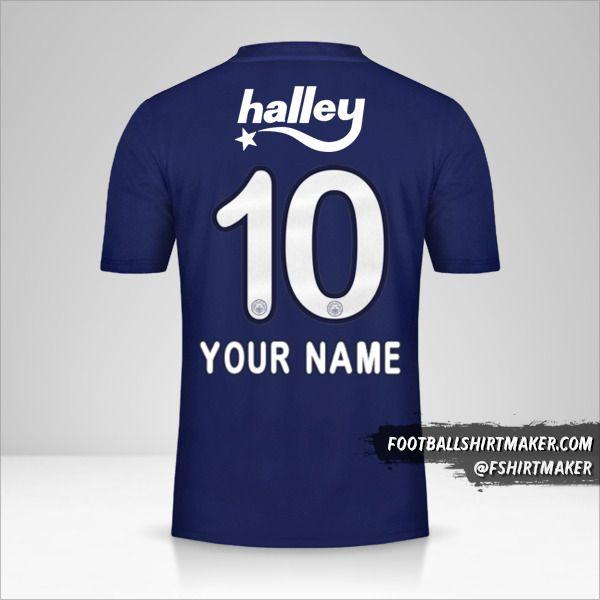 Fenerbahçe SK 2019/20 jersey number 10 your name
