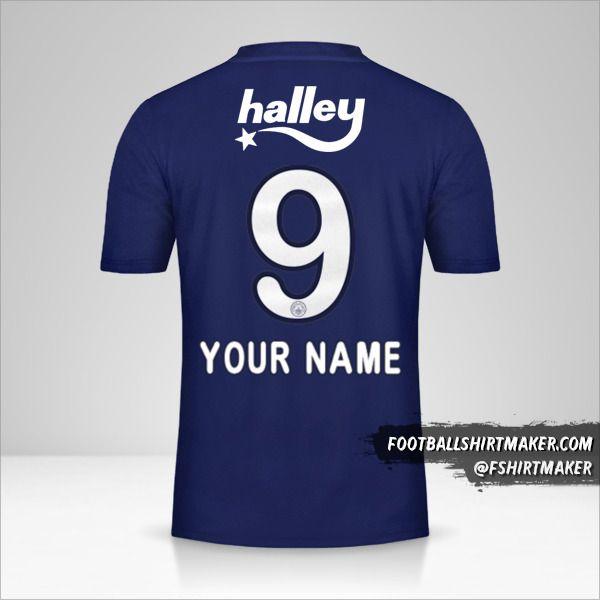 Fenerbahçe SK jersey 2019/20 number 9 your name