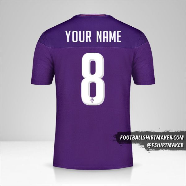 Fiorentina jersey 2019/20 number 8 your name