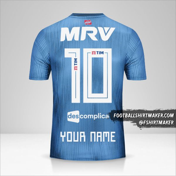 Flamengo 2018/19 III jersey number 10 your name