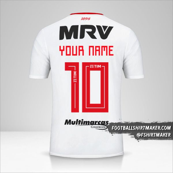Flamengo Libertadores 2019 II jersey number 10 your name