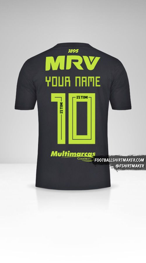 Flamengo Libertadores 2019 III jersey number 10 your name