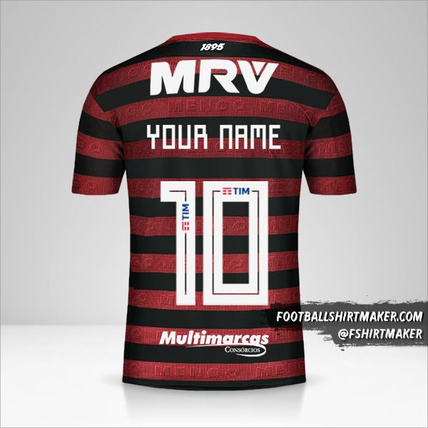 Flamengo Libertadores 2019 jersey number 10 your name