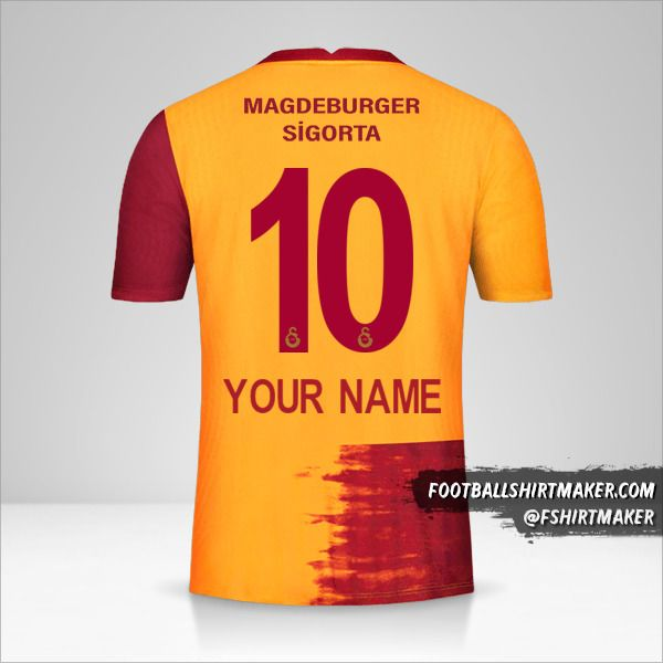Galatasaray SK 2020/21 jersey number 10 your name