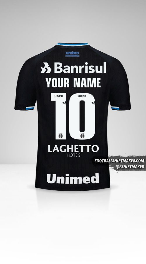 Gremio 2018 III jersey number 10 your name