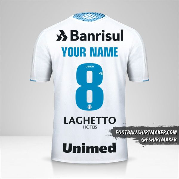 Gremio 2019 II jersey number 8 your name