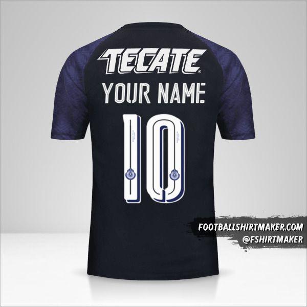 Guadalajara 2017/18 II jersey number 10 your name