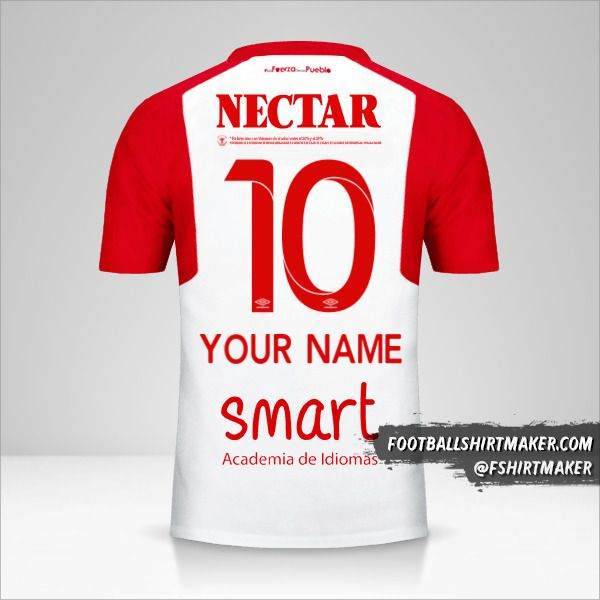 Independiente Santa Fe 2018 II jersey number 10 your name