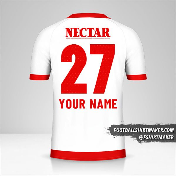 Independiente Santa Fe 2019 II jersey number 27 your name