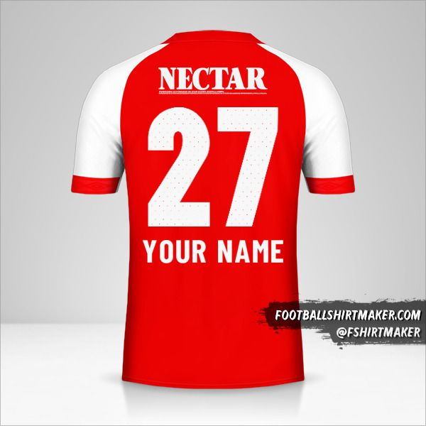 Independiente Santa Fe 2019 jersey number 27 your name