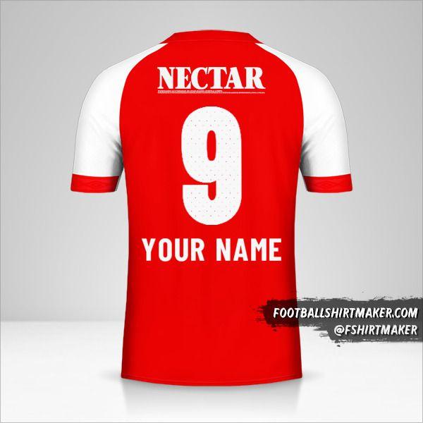 Independiente Santa Fe jersey 2019 number 9 your name