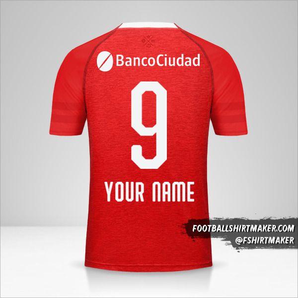 Independiente jersey 2018/19 number 9 your name