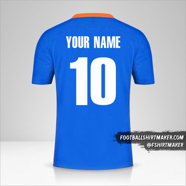 India 2021 jersey number 10 your name