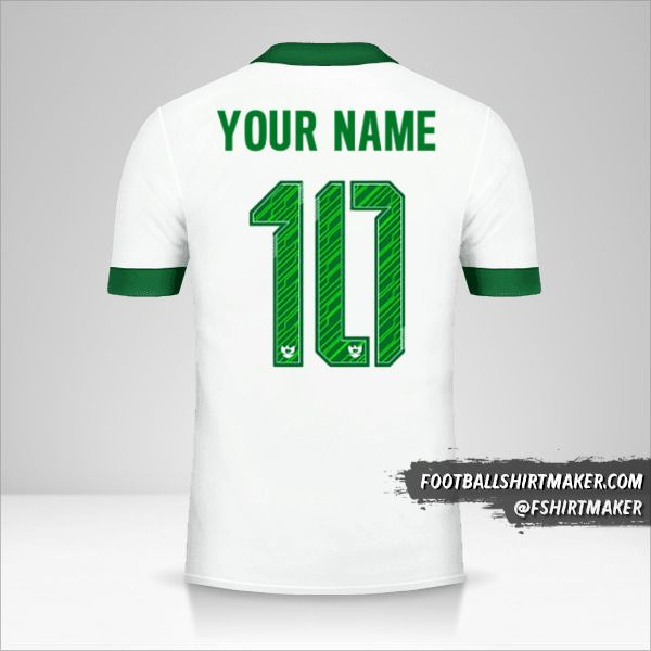 Indonesia 2016/17 II jersey number 10 your name