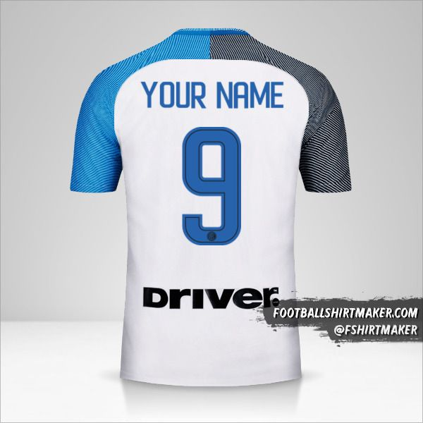 Inter 2017/18 II jersey number 9 your name