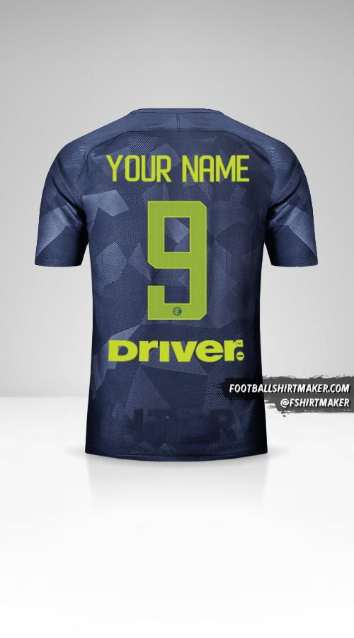 Inter 2017/18 III jersey number 9 your name