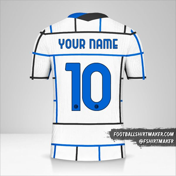 Inter 2020/21 Cup II jersey number 10 your name