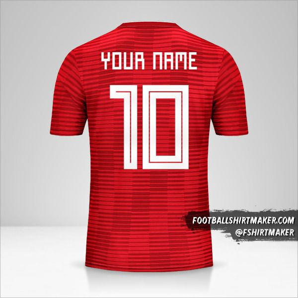 Iran 2018 II jersey number 10 your name