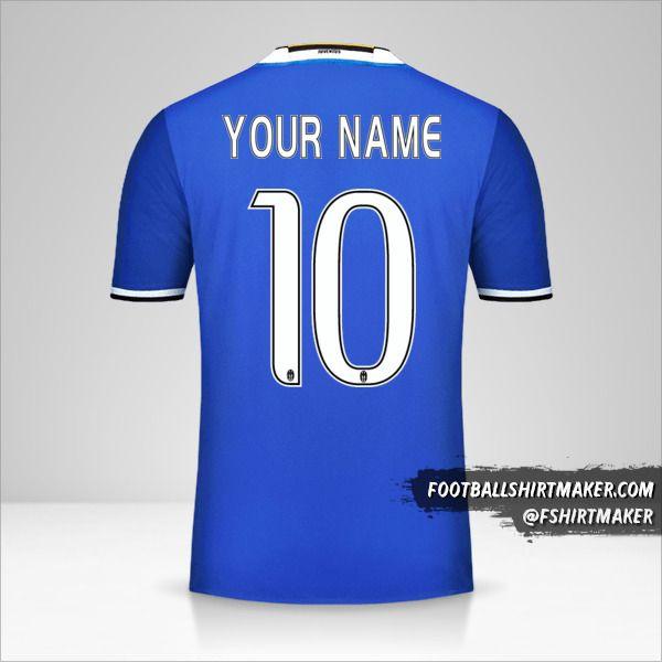 Juventus FC 2016/17 II jersey number 10 your name