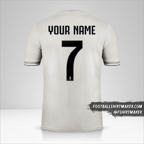 Juventus FC 2018/19 II Cup jersey number 7 your name