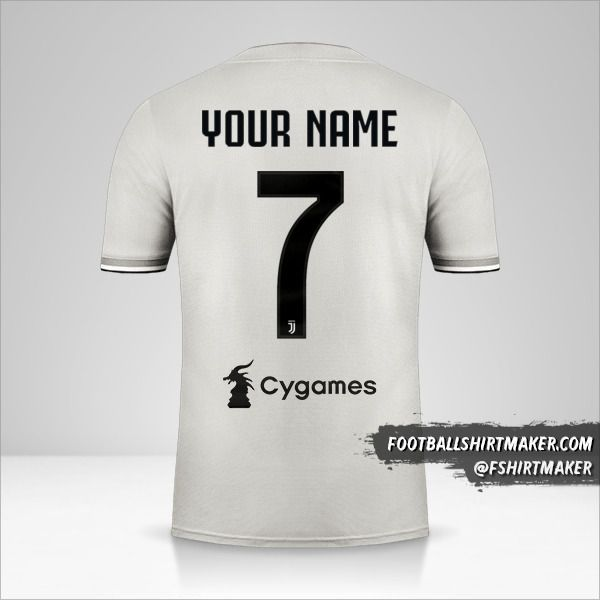 Juventus FC 2018/19 II jersey number 7 your name