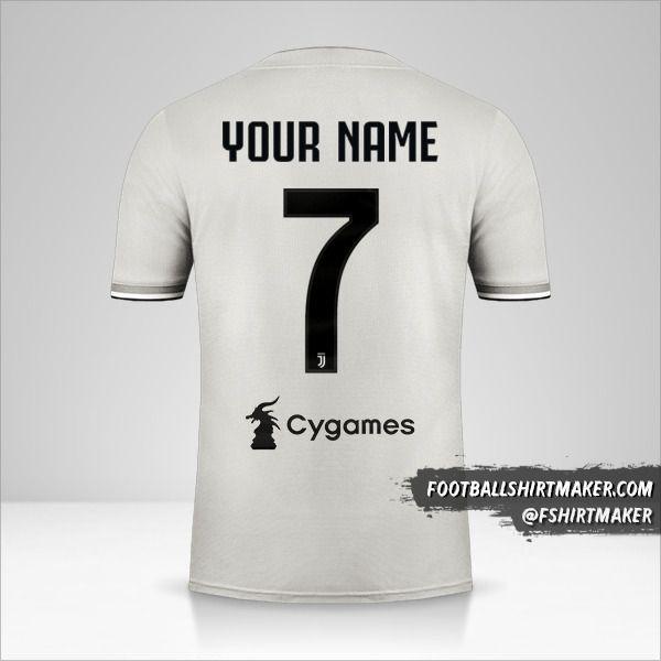 Juventus FC 2018/19 II jersey number 7 your name