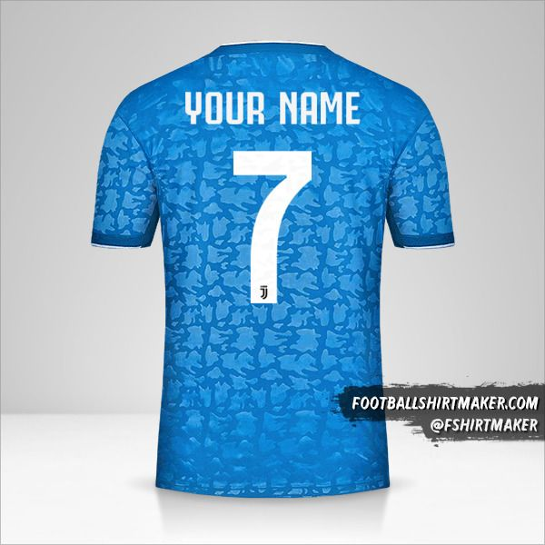 Juventus FC 2019/20 III jersey number 7 your name