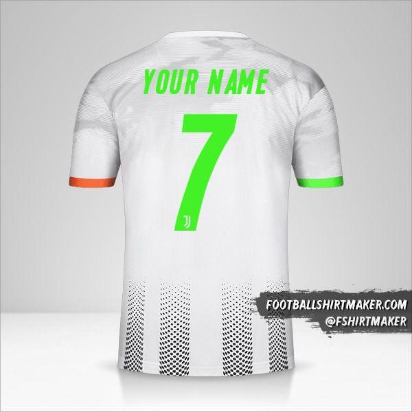 Juventus FC 2019/20 Palace jersey number 7 your name