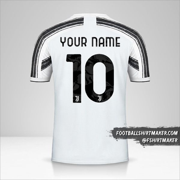 Juventus FC 2020/21 Cup jersey number 10 your name