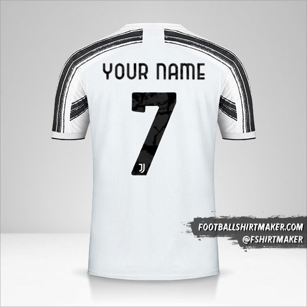 Juventus FC 2020/21 Cup jersey number 7 your name