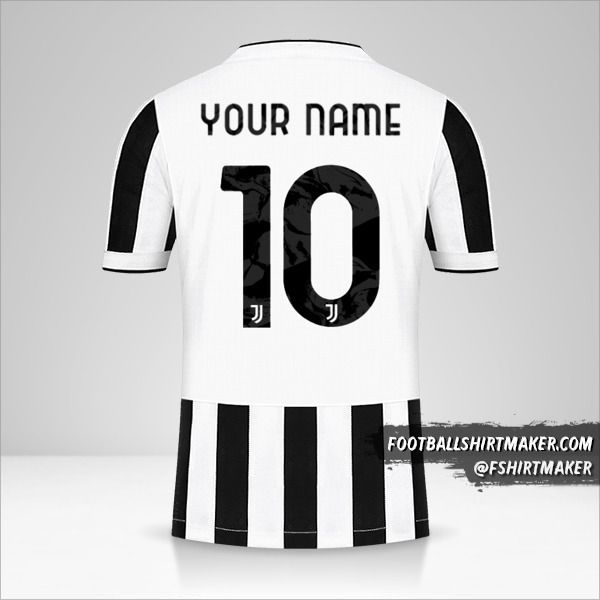 Juventus FC 2021/2022 Cup jersey number 10 your name