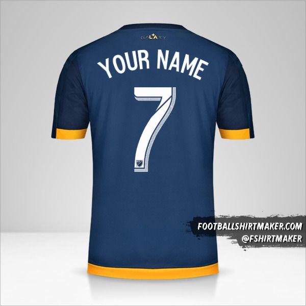 LA Galaxy jersey 2015/16 II number 7 your name