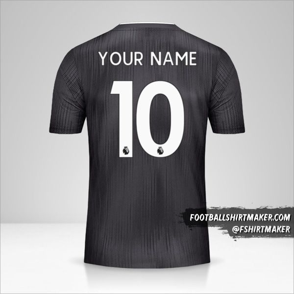 Leicester City FC 2019/20 II Black jersey number 10 your name