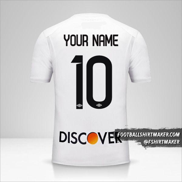 Liga de Quito 2017 jersey number 10 your name