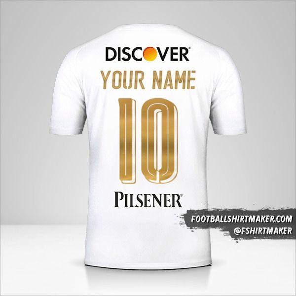 Liga de Quito 2018 jersey number 10 your name