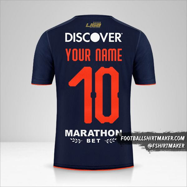 Liga de Quito 2019 Copa jersey number 10 your name