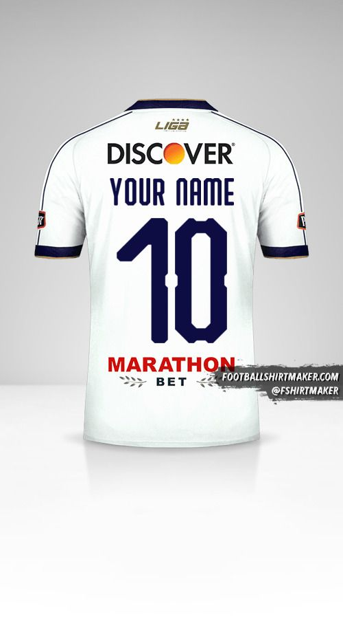 Liga de Quito 2019 jersey number 10 your name