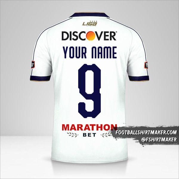 Liga de Quito jersey 2019 number 9 your name