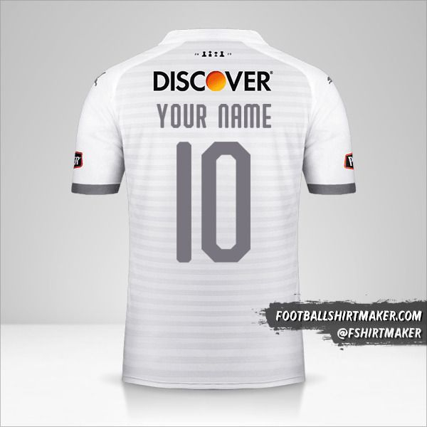 Liga de Quito 2020 jersey number 10 your name