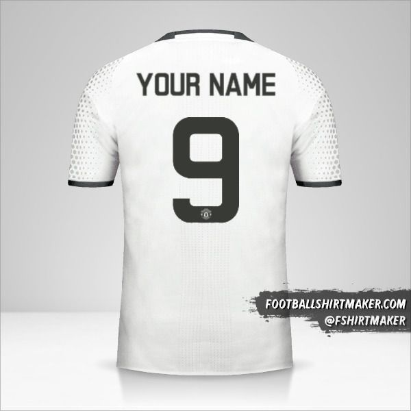 Manchester United 2016/17 Cup III jersey number 9 your name