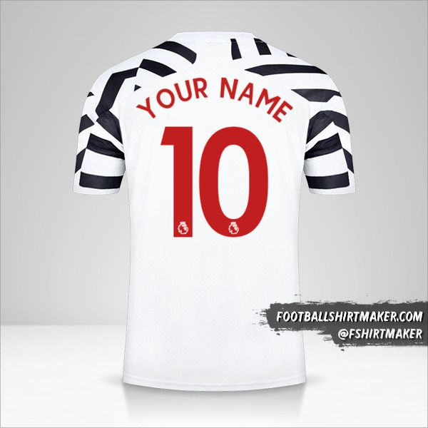 Manchester United 2020/21 III jersey number 10 your name